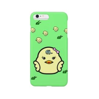 ひよこ ダルマ 1 (スマホケース) Smartphone cases