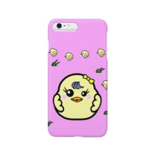 ひよこ ダルマ 3 (スマホケース) Smartphone cases