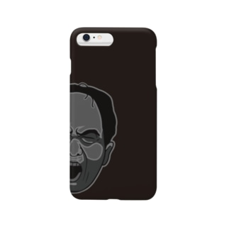 江頭 2:50 スマホケース(Cool Black) Smartphone cases
