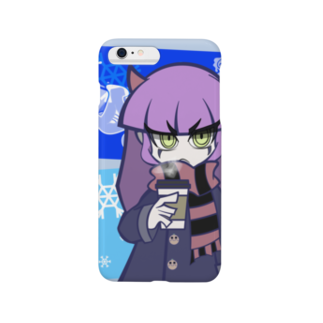 yoheiheyのDemon girls#2 Becca with coffee Smartphone cases