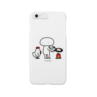 Mr.AWKWARD with Chicken Smartphone cases