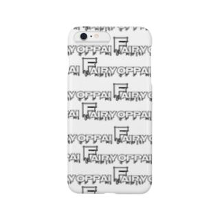 フェアリーを君に。(総柄・白) Smartphone cases