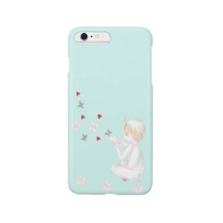 君からの贈り物(エメラルド) Smartphone cases