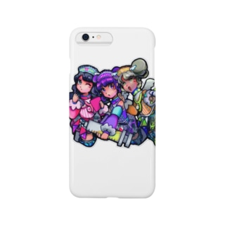 ぷちゅうナ〜ス三人衆 Smartphone cases