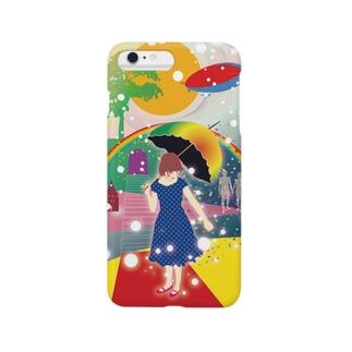 「春と虹」 Smartphone cases