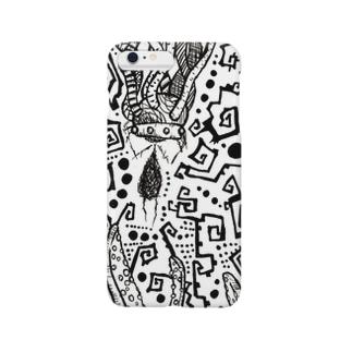 悩めるココロ君 Smartphone cases