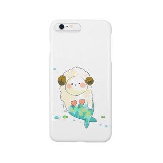 まーめいずー:ひつじさん Smartphone cases