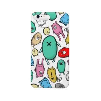 えだまめのスマホケース Smartphone cases