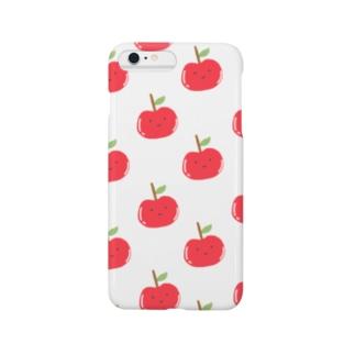 ぶつりんごスマホケース Smartphone cases