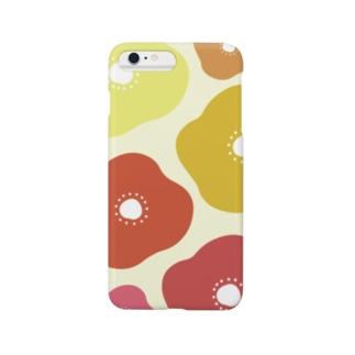 はなやかなお花 Smartphone cases