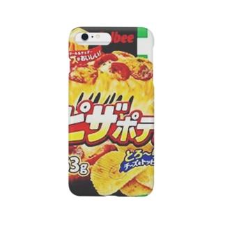 とろ〜り チーズたっぷり みんな大好きピザポテト Smartphone cases