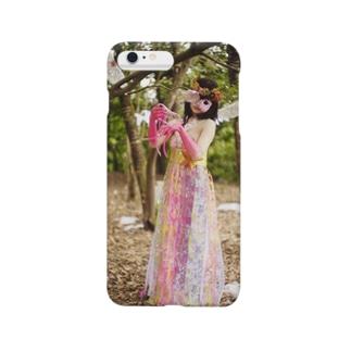 カジタミキの装飾切り絵 ラプンツェル Smartphone cases