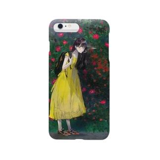 黄色と赤と緑と煙草 Smartphone cases