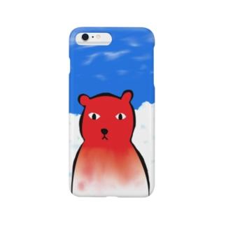 自然のなかのシロクマ Smartphone cases