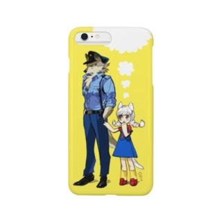 イヌのオマワリさん Smartphone cases
