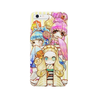着物ポニーちゃん Smartphone cases