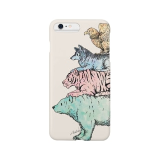 猛獣ブレーメン(color) Smartphone cases