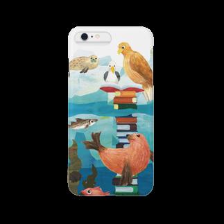 gomaphのオジロワシとトド Smartphone cases