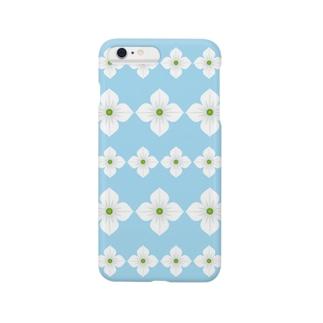 ヤマボウシ(パターン2) Smartphone cases