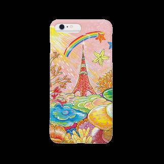 SACHI GRAPHIC ARTSのTokyo Towerスマートフォンケース