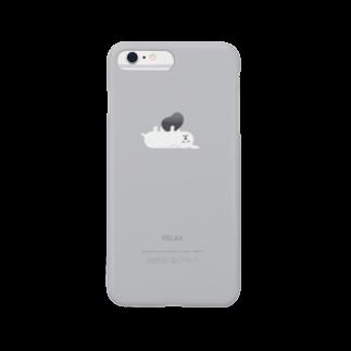 ふきだしいぬのふきだしいぬ【RELAX】 Smartphone cases