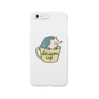 ハリネズミカフェ Smartphone cases