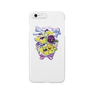 花束を君に ボタニカルアート 花柄 iphoneケース Smartphone cases