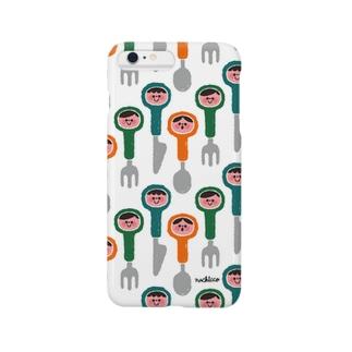 カトラリー3兄弟 Smartphone cases