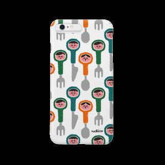 nachiccoのカトラリー3兄弟 Smartphone cases