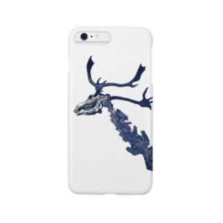 鹿の骨 Smartphone cases
