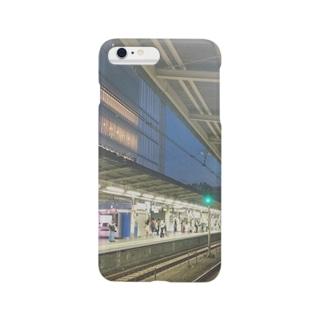 JR中央線のとある駅 Smartphone cases