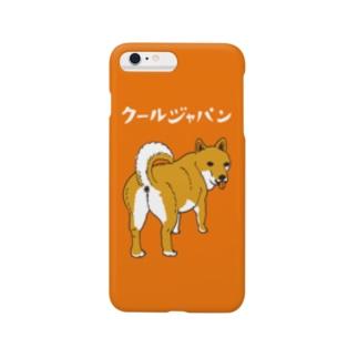 柴犬 スマートフォンケース