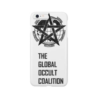 GOCロゴグッズ-黒[SCP Foundation] スマートフォンケース