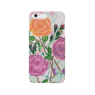 Flower(バラ) Smartphone cases