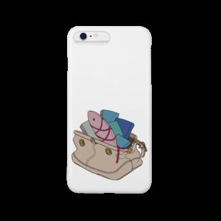 ショッピーのアイテムの鞄金魚スマートフォンケース