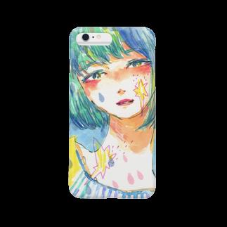 福井伸実の青と星の彼女 Smartphone cases