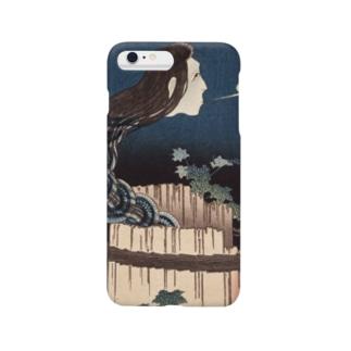 百物語 さらやしき【浮世絵・幽霊・妖怪・お菊】 Smartphone cases