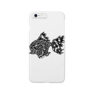 "Animalia Kinky "" Black Gold Fish "" Smartphone cases"