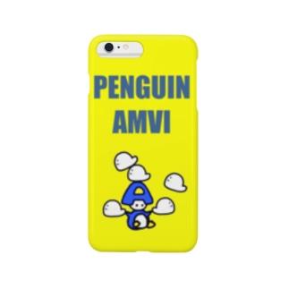 あんびくん(ペンギン) Smartphone cases