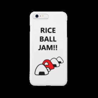 あんびSHOPのあんびくん(おにぎり) スマートフォンケース
