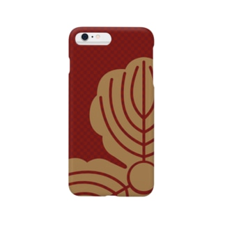 三柏 赤金 Smartphone cases