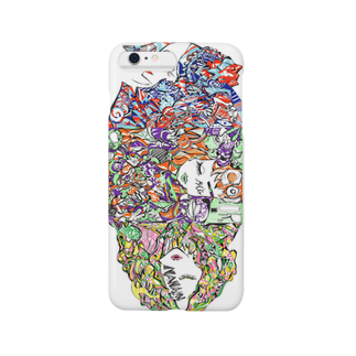 F.W.W.のcolor-code iphone case by F.W.W.スマートフォンケース