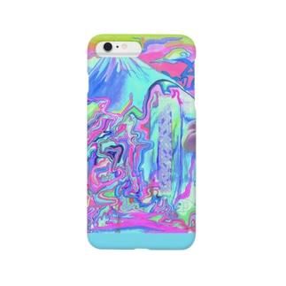 Cure peach(サイケVer.) Smartphone cases