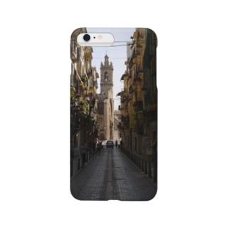 外国の路地 Smartphone cases