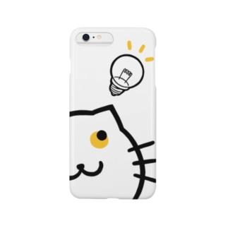 ピコーンねこふくろう Smartphone cases