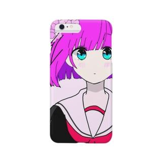 セーラー少女 Smartphone cases