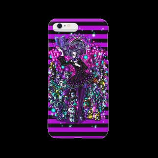 ビューティフルハードコアイラストレーション-DESIGN STOREの魔女と魔法人形(witches & masic doll) Smartphone cases