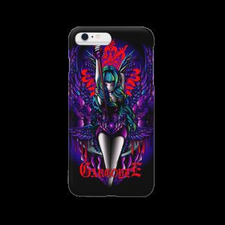 ビューティフルハードコアイラストレーション-DESIGN STOREのガーゴイル(GARGOYLE) Smartphone cases