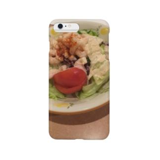 小エビのサラダケース Smartphone cases