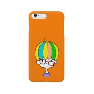 ずれ眼鏡 Smartphone cases